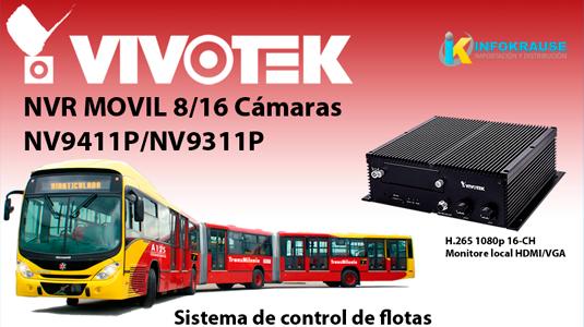 NV9411P NVR móvil VIVOTEK